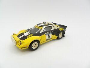 Lancia Stratos Rally Costa #4 Olio Fiat 1/43 Solido Rally Kit Rare