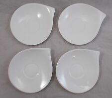 Villeroy & and Boch FLOW - 4 x coffee saucers