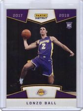2017-18 Panini Instant NBA #5 Lonzo Ball Rookie Card Lakers - Only 3,289 made