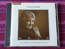Carol Kidd ~ Gold ( 24k Gold  Disc ) ( Linn ) Cd