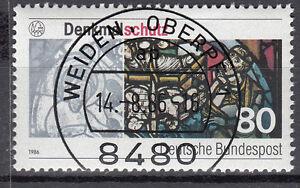 BRD 1986 Mi. Nr. 1291 gestempelt WEIDEN OBERPF 1 , mit Gummi TOP! (16992)