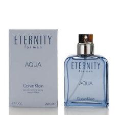 ETERNITY AQUA by Calvin Klein 6.7 oz / 6.8 oz / 200 ml EDT Spray Men NIB SEALED