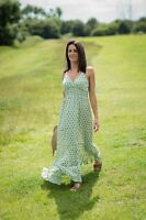 Womens Summer Boho Long Maxi Dress Casual Sundress Free Size 8-14