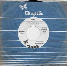 JETHRO TULL  Home  rare promo 45 from 1979