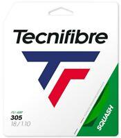 TECNIFIBRE 305 SQUASH STRING - 1.10MM - ONE 10M SET - GREEN - RRP £15