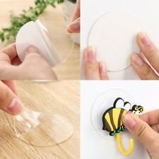 Silicone Double Sided Tape Sticker Suction Cup Sucker Auxiliary Strong Adhesive