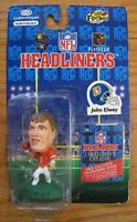 NFL Headliners Denver Broncos JOHN ELWAY FOOTBALL FIGURE Toy NEW 1996