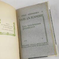🌓 EO Émile VERHAEREN | Les tendresses premières | 1904 | Ex. n°1 Japon Impérial
