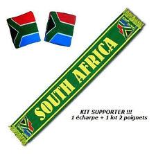 ECHARPE + BRACELET AFRIQUE DU SUD drapeau maillot scarf sjaal sciarpa bufanda