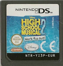 NINTENDO DS HIGH SCHOOL MUSICAL 2 WORK THIS OUT GAME CARTRIDGE ONLY