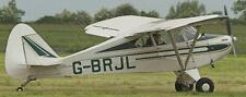 PA-15 Piper Vagabond PA15 Airplane Wood Model Big