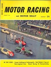 Motor Racing - BRSCC journal - magazine - March 1961