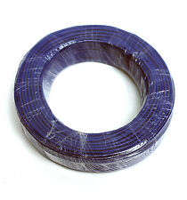 50m φ3mm 3mm Shielding Signal Cable Wire 2C 26AWG Blue Tin-plated copper wire