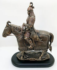 Mongolian Horse Warrior Sculpture Khishigten Imperial Guard of Genghis Khan