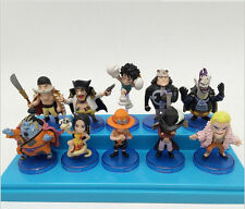 10pcs/set One Piece Oka Shichibukai Seven Warlords of The Sea Figure New In Box