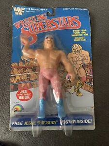 """WWF Wrestling Superstars Jesse """"The Body"""" Ventura figure LJN 1985"""