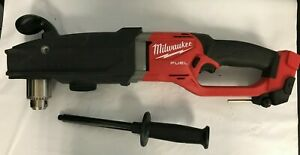 """Milwaukee 2809-20 M18 FUEL Super Hawg 1/2"""" Right Angle Drill, GR"""