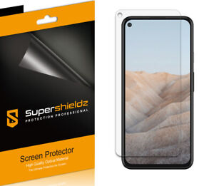 6X Supershieldz Clear Screen Protector Saver for Google Pixel 5a 5G
