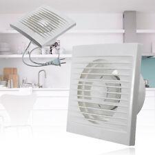 220V 4 Zoll Ventilator Axial Bad Lüfter Küche WC WandlüfterAirflow Lüftung