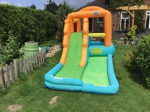 Action Air ,Inflatable Water Slide Bouncy Castle with air blower repaired