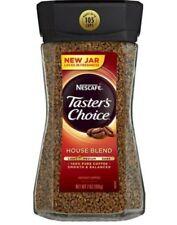Nescafe Taster's Choice House Blend Instant Coffee Smooth & Balanced Glass Jar