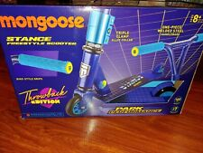 Mongoose Stance Freestyle Scooter Throwback Edition Blue New - Summer Toy!