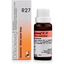 Dr. Reckeweg R27 Kidney Stone Drops 50ml Homeopathic Remedies