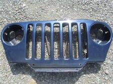 Jeep Wrangler TJ  Grille   Garage Wall Art  blue