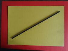 2 x Graphitstab 4,5x5,5x320 mm Vierkantstab sehr selten Graphit Kohlenstoff