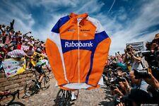 Vintage Team Rabobank Cycling Jersey jacket XL