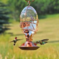Perky-Pet 8110-3 Looking Glass Hummingbird Feeder, Copper, 32 Oz