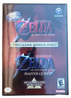Legend of Zelda: Ocarina of Time/Master Quest (GameCube 2003) Factory Sealed NEW