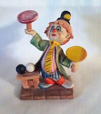 """Clown Made In Italy D 4253 Figurine Measures Approximately 4"""" Tall, 3.5"""" Wide"""