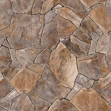 @ 6 Sheets Embossed Bumpy floor cracked stone 1/24 Code 4Rg677