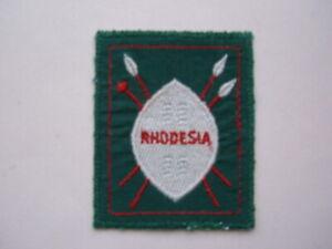 RHODESIA scouts.