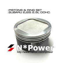 0.50+ PISTON & RING SET OF 4 FOR SUBARU EJ25 2.5L DOHC 16V Liberty Outback 96-99