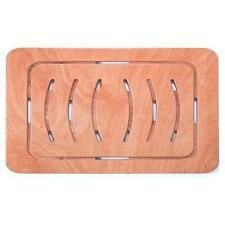 Pedana doccia antiscivolo piatto 140 x 52 rettangolare legno marino okumè design
