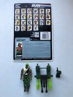 GI Joe 1991 Heavy Duty v1 Hasbro Action Figure Near Complete with File Card #526