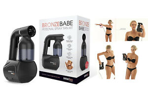 New Minetan Bronze Babe Personal Spray Tan Kit - BLACK AU SELLER