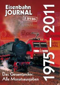 Eisenbahn Journal DVD - Das EJ-Gesamtarchiv 1975 - 2011