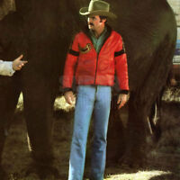Smokey and the Bandit Men's Red Burt Reynolds Motorbike Leather Jacket
