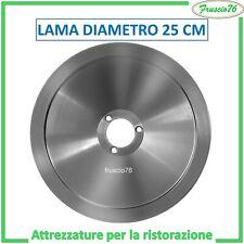 LAMA ACCIAIO PER AFFETTATRICE NOAW mm 250 25 cm - RICAMBI PER AFFETTATRICI