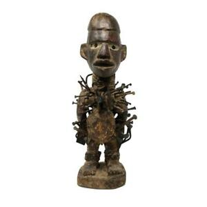 BaKongo Nkisi Nkondi Nail Power Figure, Democratic Republic of Congo