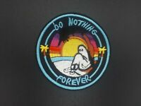 Parche Do Nothing Forever Fantasma Gosth Patch Emboidered