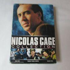 Nicolas Cage Collection Dvd 3 Movies Face Off World Trade Center Snake Eyes