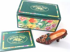 Willow Hall Flowers of the Month Collection Shoe NOVEMBER Floral Fantasy