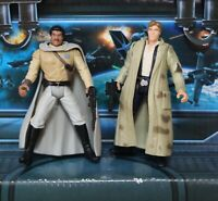 STAR WARS FIGURE 1995 POTF COLLECTION LANDO CALRISSIAN HAN SOLO ENDOR LOT