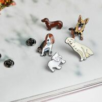 Lovely 5 Piece/Set Enamel Brooches Fashion Jewelry Denim Jacket Pin Badges