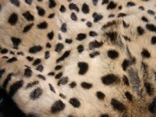 World Book Day Teachers Fancy dress Leopard Faux Fur cape/collar,  BNWT Cosplay