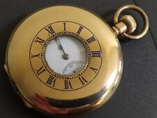 Waltham 'Ensign' Gold Filled Half Hunter Pocket Watch in Good Working Order